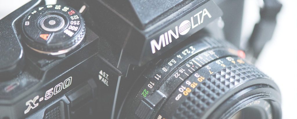 Minolta Analogkamera