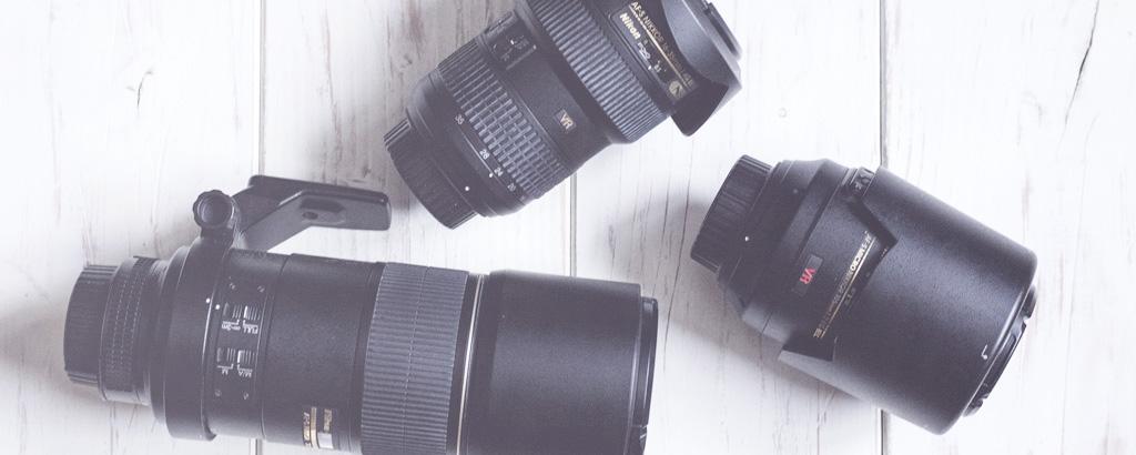 Verschiedene Nikon Objektive