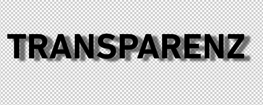 Transparenz mit Verlauf - PNG